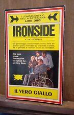 Ironside, Jim Thompson, Longanesi, 1969, RARO