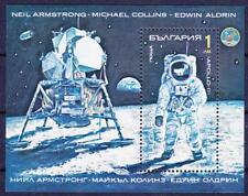 Bulgarien Block 213 A **, Raumfahrt N. Armstrong, Astronauten, space, MNH