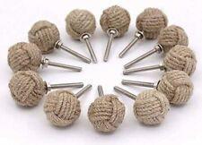 12 Knotty Door knobs - Nautical Drawer pulls - Jute Rope Drawer pulls