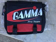 Gamma Pro Team Briefcase Bag Racketball Pickleball Tennis Laptop Case Red/Black