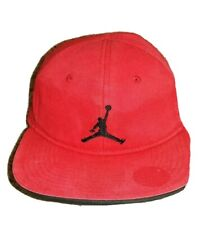 Air Jordan Boys Cap Red/Red JUMPMAN Youth Hat Basketball Last Dance adjustable