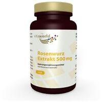 Vita World Rosenwurzkapseln Extrakt 120 x  500mg 3% Rosavin Rhodiola Rosea