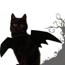 1pc Halloween Bat Wing Clothes For Cats Puppy Dogs Funny Costume For Cat^