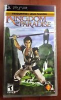 Kingdom of Paradise (Sony PSP, 2005) NEW FACTORY SEALED