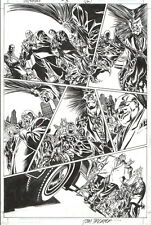 PHIL WINSLADE/ TOM PALMER 2001 SPIDER-MAN, DAREDEVIL, KINGPIN, OWL ORIGINAL ART!