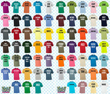 Custom Personalised Men's Printed T-SHIRT Name Funny Work Stag -Your text/logo 1