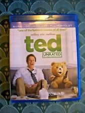 TED UNRATED ALSO INCLUDES THEATRICAL VERSION  (BLU RAY & DVD) ONLY!! NO DIGITAL