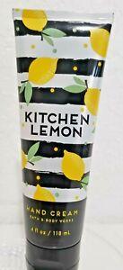 Bath And Body Works Kitchen Lemon Hand Cream 4oz New  free shipping