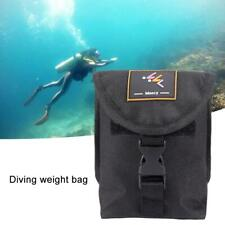 Scuba Diving Pocket Weight Belt Snorkeling Band with Quick Release Buckle