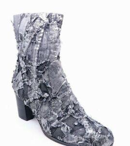 Django & Juliette new ladies fabric ankle boot size 37 #203