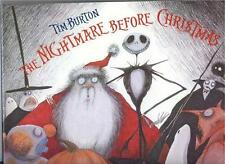 Tim Burton Tim Burton Nightmare Before Christmas Santa  Hard Cover Book 1993
