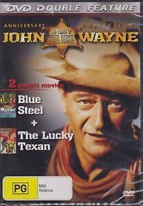 JOHN WAYNE - BLUE STEEL & THE LUCKY TEXAN  - DVD -  NEW Classic Western