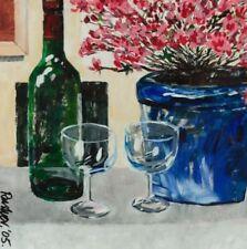 Künstlerische 1950-1999er Malereien mit Stillleben Acryl