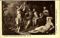 Künstlerkarte Kunstverlag Wolfrum ~1910 Törischte Jungfrauen von J.v. Boeckhorst