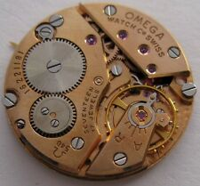 Omega 540 17 jewels watch movement & dial for parts