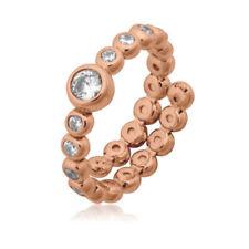 Markenlose Ringe mit Zirkon-Sets (16,5 mm) Ø 52 Edelsteinen