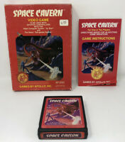 Space Cavern (Red Label) ATARI 2600 Complete In Box CIB (Cleaned & Tested) Rare