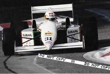9x6 Photograph ,  Bertrand Gachot , Coloni-Subaru C3B  ,  1990 Grand Prix Season