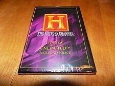 RAILROAD POLICE TRAINS UNLIMITED Locomotive Railroads History Channel DVD NEW