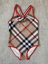 Burberry Children Check Swimsuit Swimming Costume