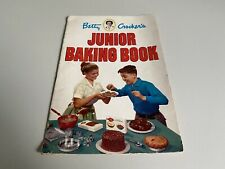 Betty Crocker's Cookbook Vintage 1953 Betty Crocker Junior Baking Cook Book USA