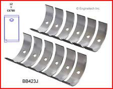 Engine Connecting Rod Bearing Set ENGINETECH, INC. BB423J100