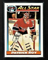 1991-92 O-Pee-Chee Patrick Roy #270 Montreal Canadiens HALL OF FAME