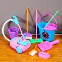 Kinder Staubsauger Spielzeuge Set Lernspiele Interessant Hausarbeit Clean T L5J6