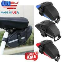 Bicycle Bike Storage Saddle Bag Seat Outdoor Cycling Tail Rear Pouch Waterproof.