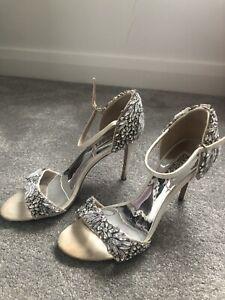 Badgley Mischka Wedding Shoes UK Size 7.5
