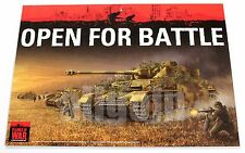 Flames Of War STORE DOOR SIGN OPEN/CLOSED RARE COLLECTIBLE