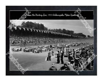 Historic Start of the 1955 Indy Postcard