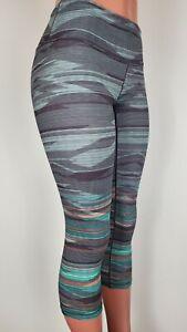 prAna Womens Pillar Cropped Printed Tight Leggings Size Small W41180320