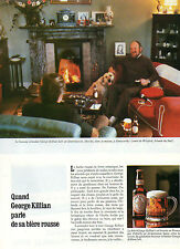 Publicité Advertising 1979  Bière  GEORGE KILLIAN'S ROUSSE George Killian