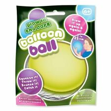 BALLOON BALL GLOW IN DARK  Christmas Gift Blow Up Bouncy Toy Stocking Filler UK