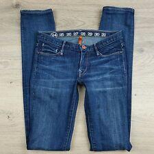 Earnest Sewn Harlan #18 Womens Jeans Cigarette Leg Size 24 Actual W27 L34 (K3)
