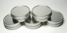 5 Blank Round Metal Tin Box Survival Kit Containers #7