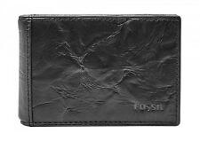 FOSSIL Money Clip Neel Bifold Black