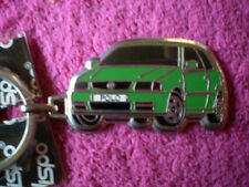 VW - POLO Metall - Schlüsselanhänger in Grün / / Rückseite Silber / NEU