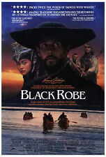 BLACK ROBE Movie POSTER 27x40 Lothaire Bluteau Aden Young Sandrine Holt August
