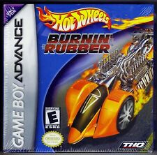 GBA Hot Wheels Burnin' Rubber, Nintendo of America, Brand New & Factory Sealed
