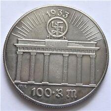 1933 Germany 100 Reichsmark Exonumia Coin