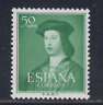 ESPAÑA (1952) MNH NUEVO SIN FIJASELLOS - EDIFIL 1106 (50 cts) FERNANDO - LOTE 3