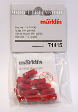 Marklin 71415 Plugs Red 10 pieces