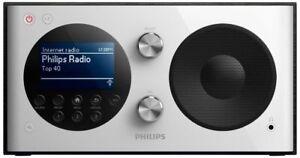 Philips AE8000 Internetradio DAB+WLAN Digital UKW-Tuner Kopfhöreranschluß Wecker