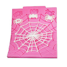 Halloween Spooky Party Decorations Spider Wed Mold Fondant Cake Sugarcraft Mould