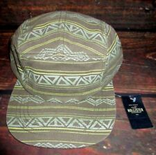 MENS HOLLISTER TRIBAL SNAPBACK HAT ADJUSTABLE CAP ONE SIZE