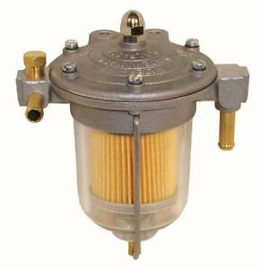Malpassi Filter King Fuel Pressure Regulator 85mm Glass Bowl 8mm Tails