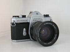 Pentax Spotmatic SP F M42 Mount 35mm with Vivitar 28mm f2.5 Serviced