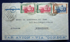 Brief, Zeppelin Luftpost (Art.3952)
